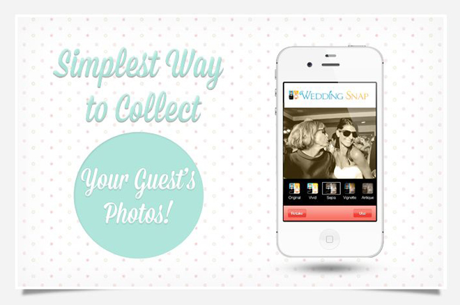 The Simplest Way to Collect Your Guests' Photos: Capturing Your Wedding Memories in a 'Snap'