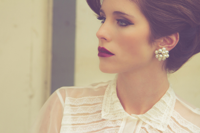 60s Inspired Bridal Shoot with Re-design Wedding Dresses