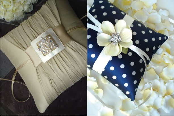 Unbelievably Pretty Ring Pillows