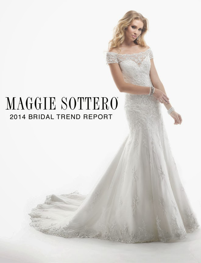 Maggie Sottero's New Collection Flaunts Spring 2014 Bridal Trends