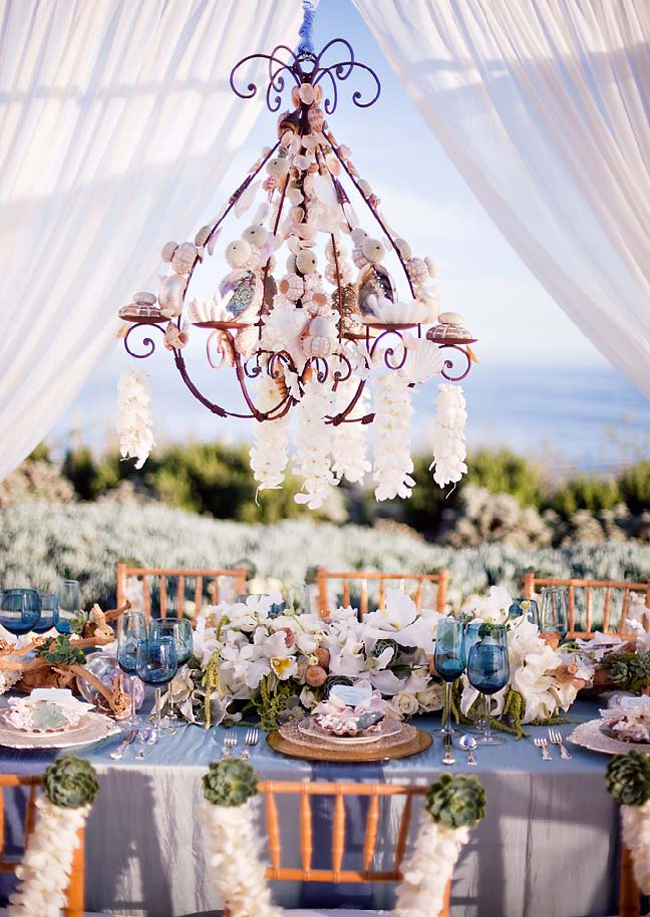 Beach Chic Wedding Decor