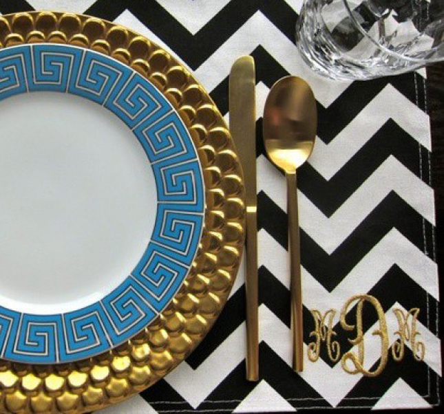 {Wedding Trends} : Chevron, Chevron & More Chevron