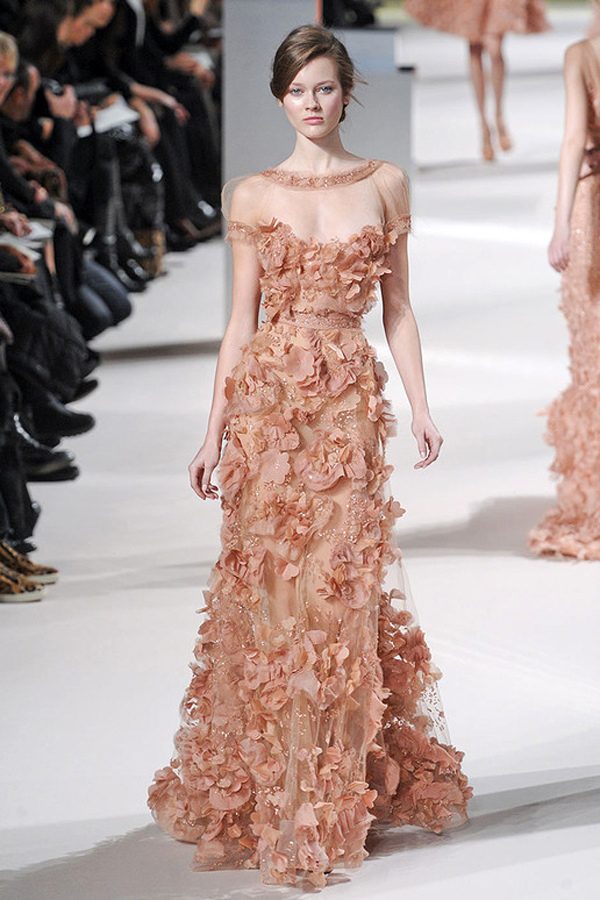 Luscious Glamour: Elie Saab Spring/Summer 2011 Couture Collection