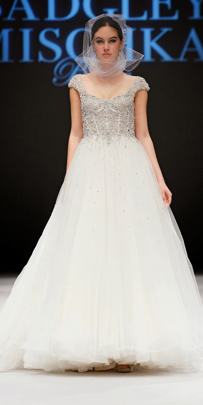 Badgley Mischka Bridal Fall 2015