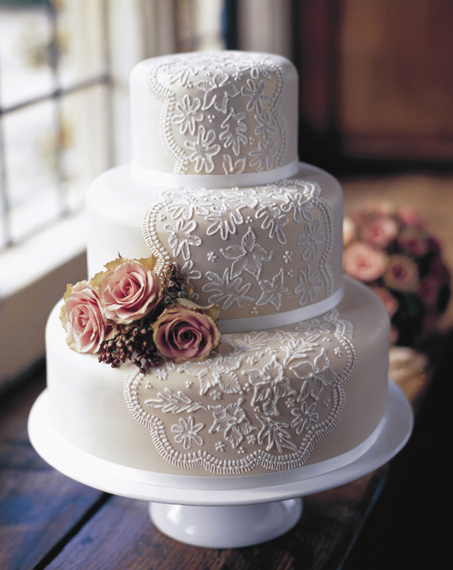 {Wedding Trends} : Lace Cakes – Part 2