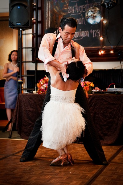 A Competitive Ballroom Dancers Wedding by Dan Dalstra