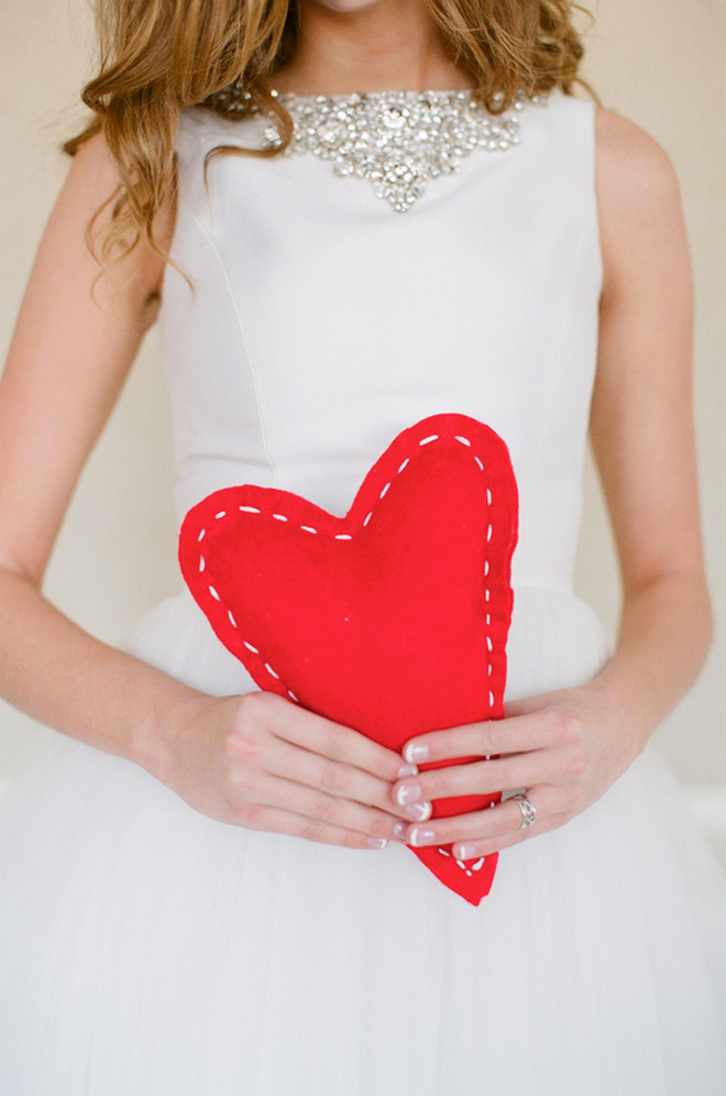 Valentine's Day Wedding Inspiration and Ideas