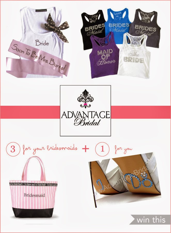Personalized Bridal Party Gifts & Giveaway!