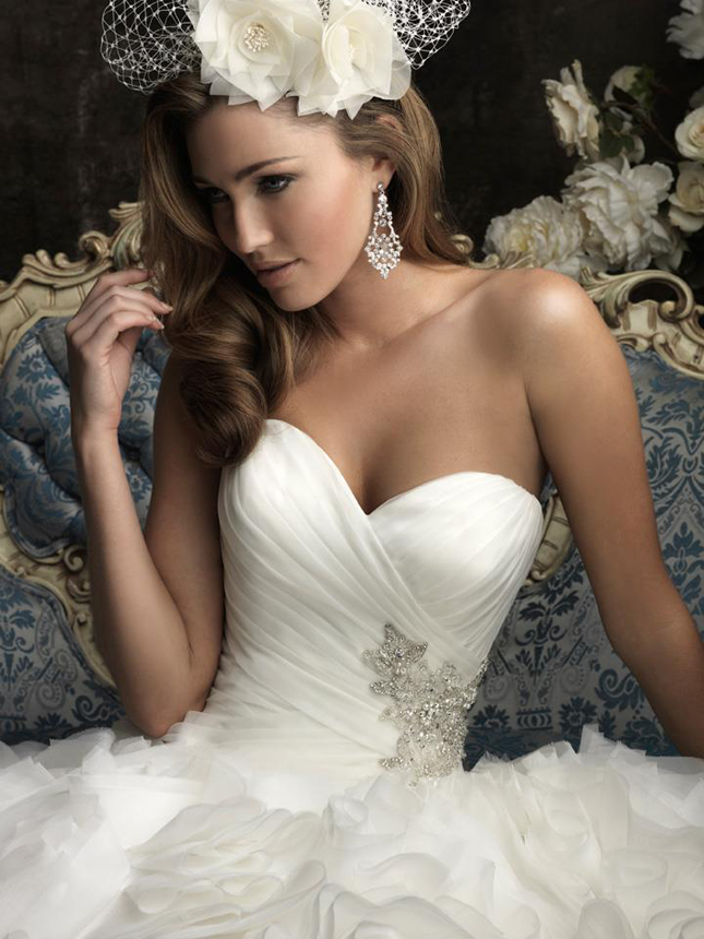 Allure Bridals Fall 2012 Collection + My Dress of the Week