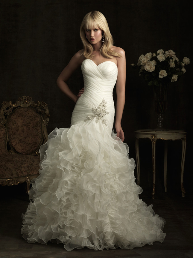 Dress OF The Week + Allure Bridals 2012 Collection