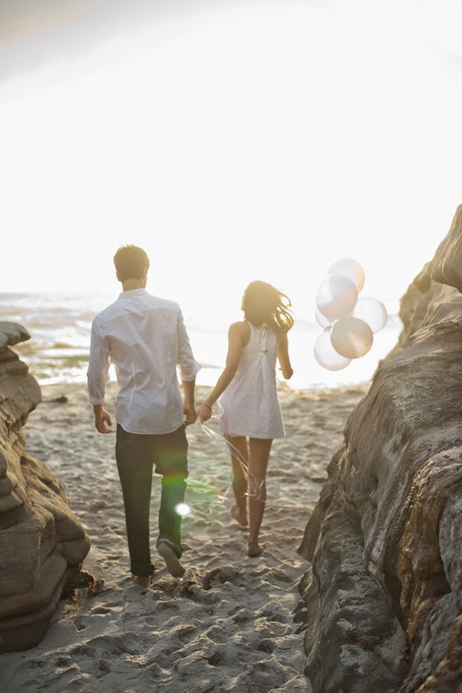 Engagement Session : Beach Love Shoot