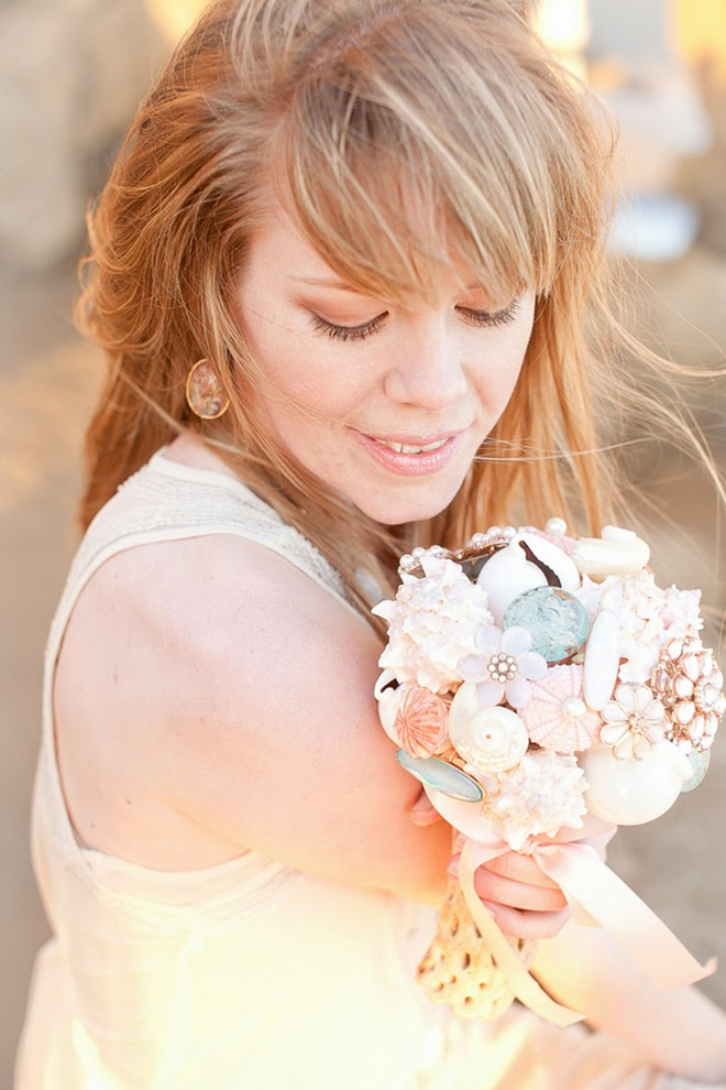 Blush, Tan and Turquoise Beach Radiance Wedding Shoot