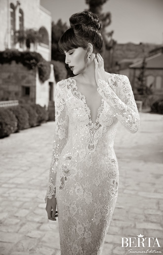 Berta Bridal Summer 2014 Wedding Dresses – Part 1