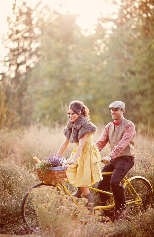 {Engagement Inspiration} : Vintage Bikes – Part 2