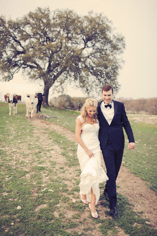 Black Tie Texas Ranch Wedding