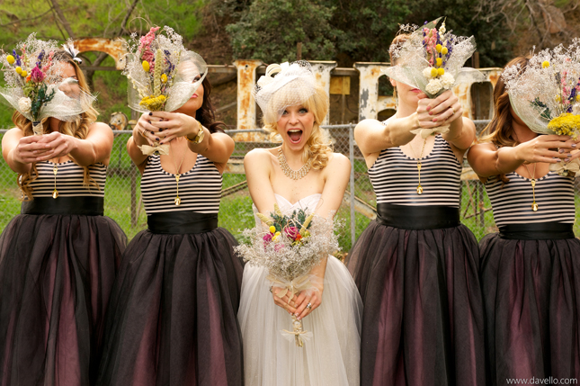 {Wedding Trends} : Bridesmaids in Skirts – how to styled, accessorized and mix-match