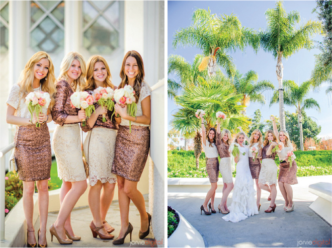 {Bridesmaids Style} : Sequins and Lace