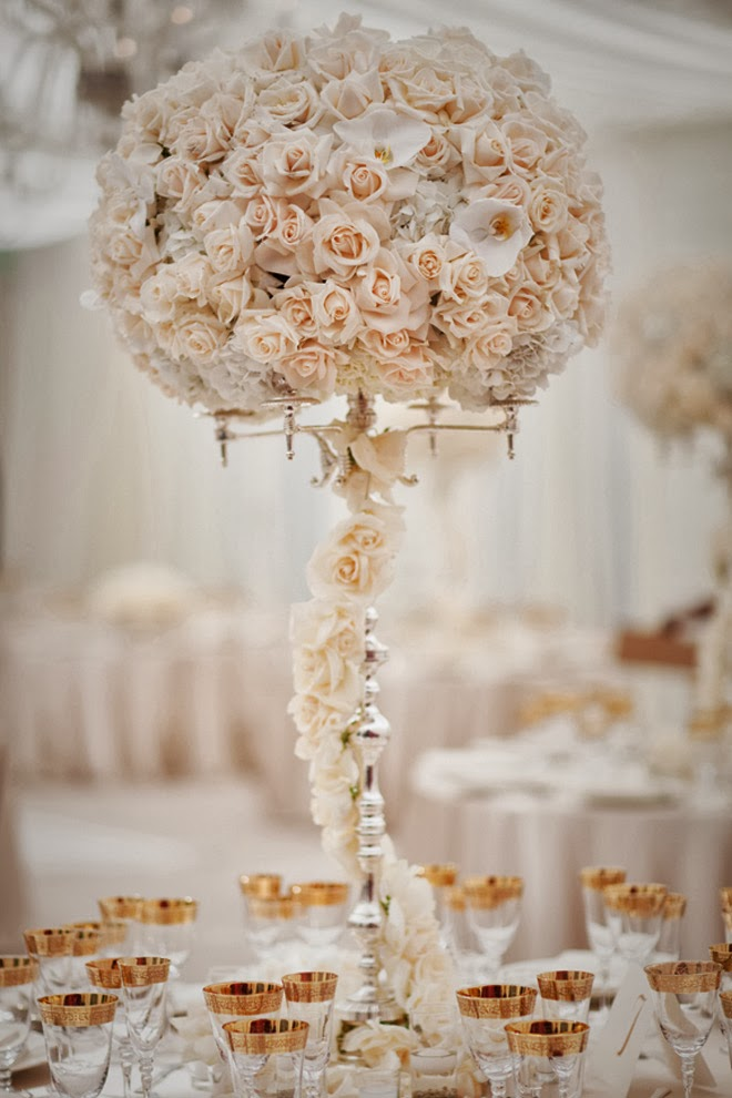 12 Stunning Wedding Centerpieces - Part 20