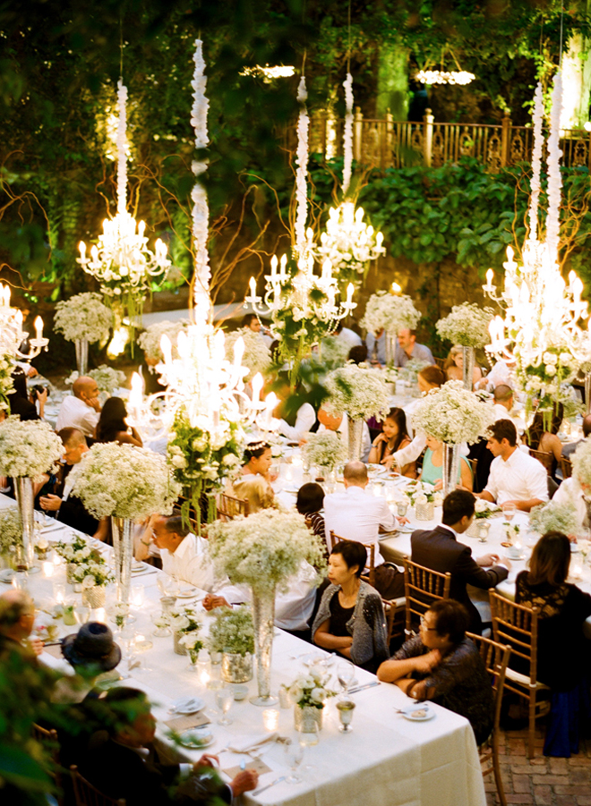Chandeliers and outdoor weddings part 2 belle the magazine for Where to have an outdoor wedding