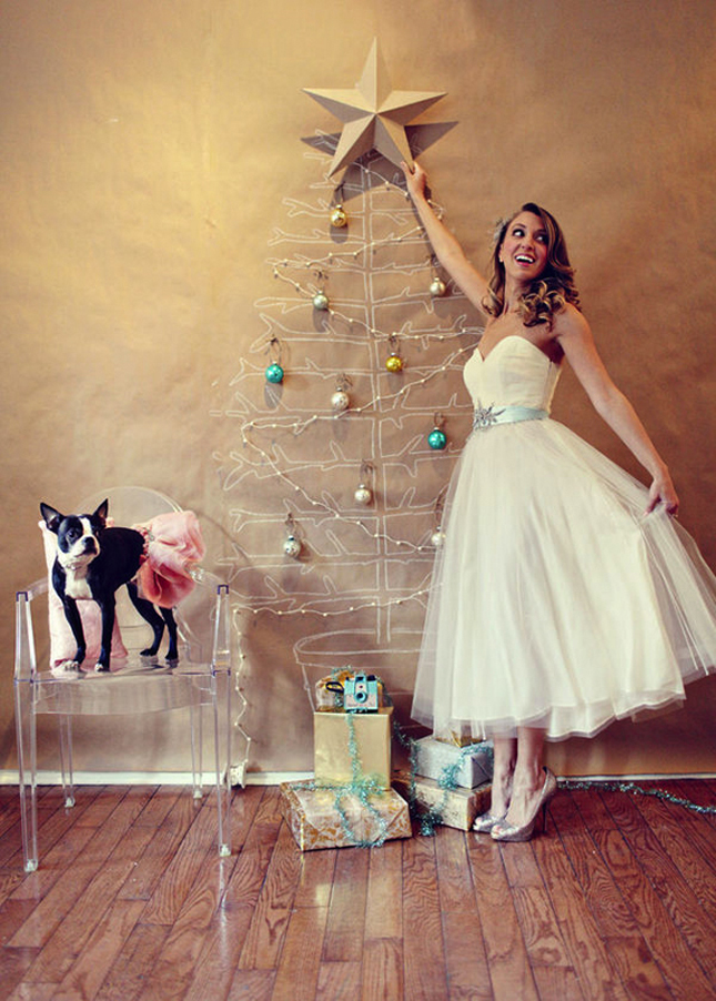 Sparkling Holiday Wedding Inspiration