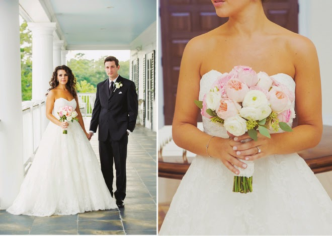 A Wedding Dream in Blush and Gold