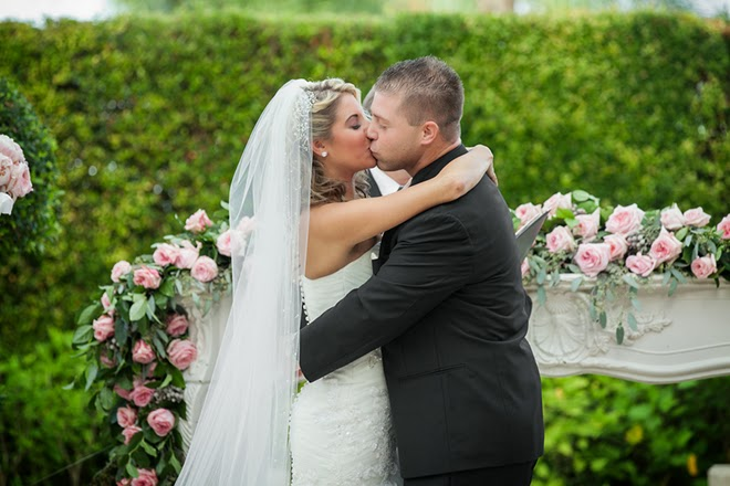 Classic and Romantic Wedding with DIY Details
