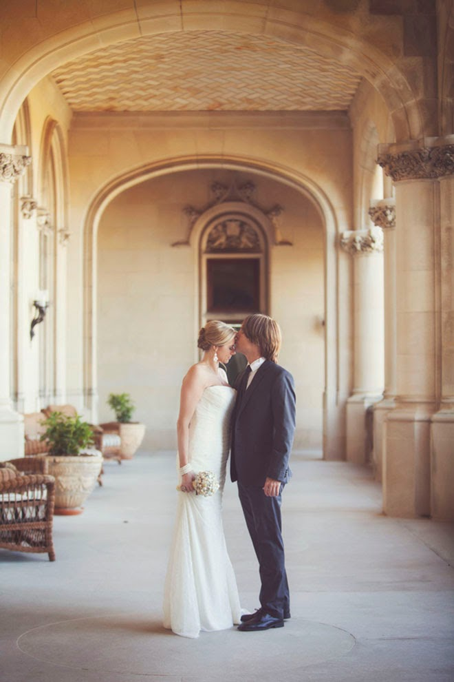 Classic Cream Biltmore Estate Wedding