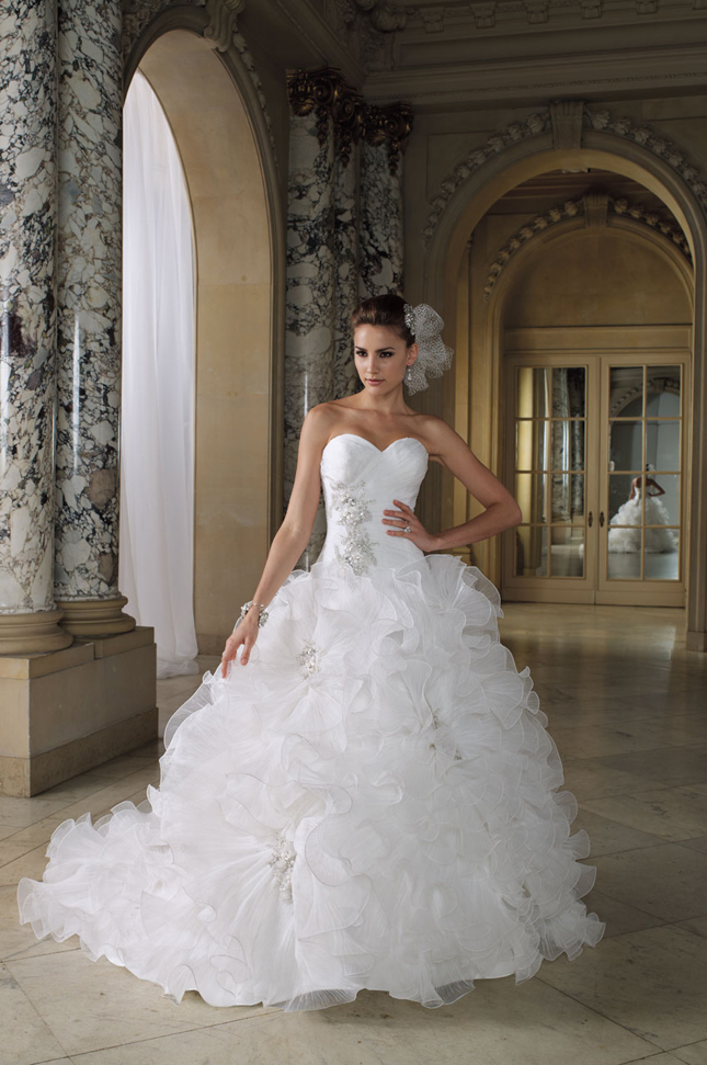 David tutera spring summer 2012 bridal collection my for What to do with my wedding dress