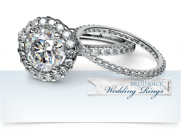 gorgeous wedding rings by brilliance - Gorgeous Wedding Rings