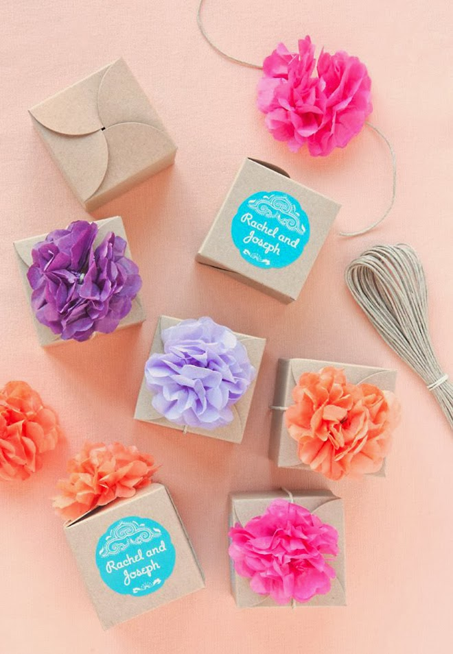 10 Amazing DIY Wedding Favors – Part 3