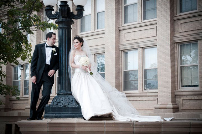 {Real Weddings} : Andrea + Joe
