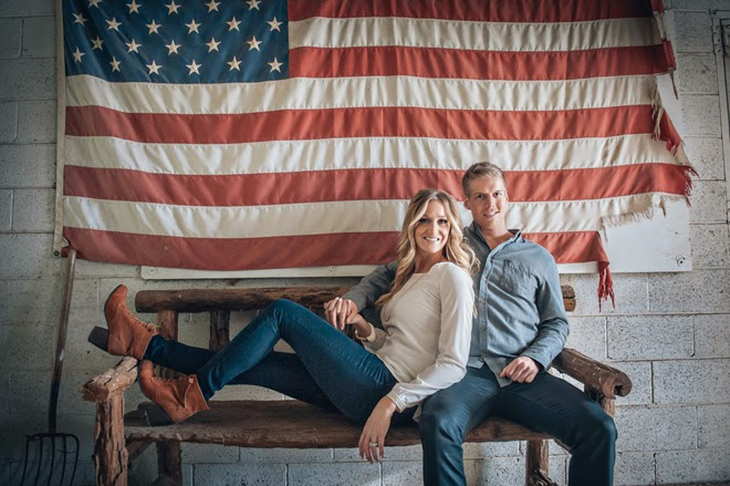 Celebrating Love this Veteran's Day with a Gorgeous, Country Engagement Session