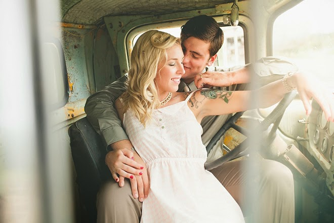 1940s Engagement Session