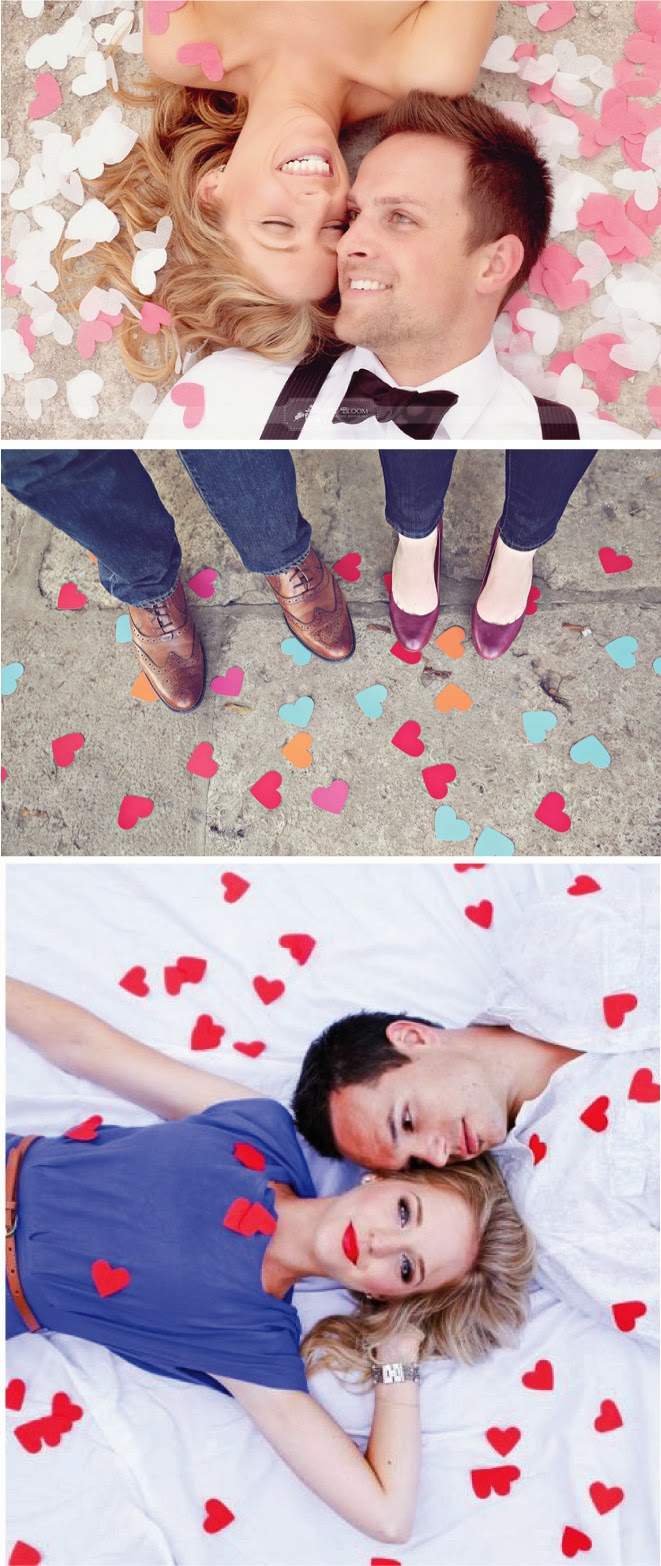 I {heart} these Engagement Session Ideas