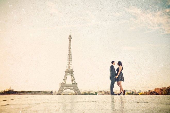 A Gorgeous Paris Engagement Session