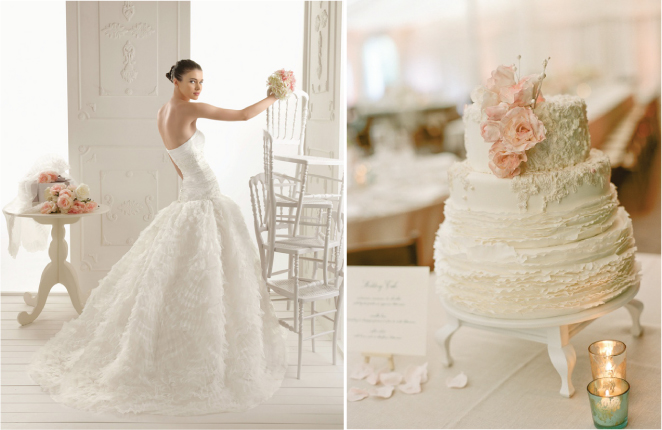 Fashion Inspired Wedding Cakes – Part 3