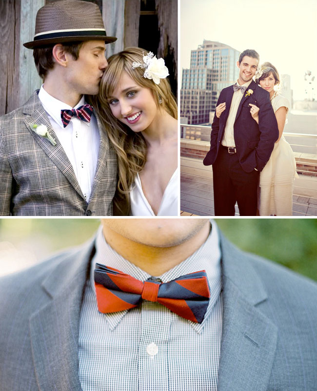 {Wedding Trends}: Fun Bow Ties for the Groom