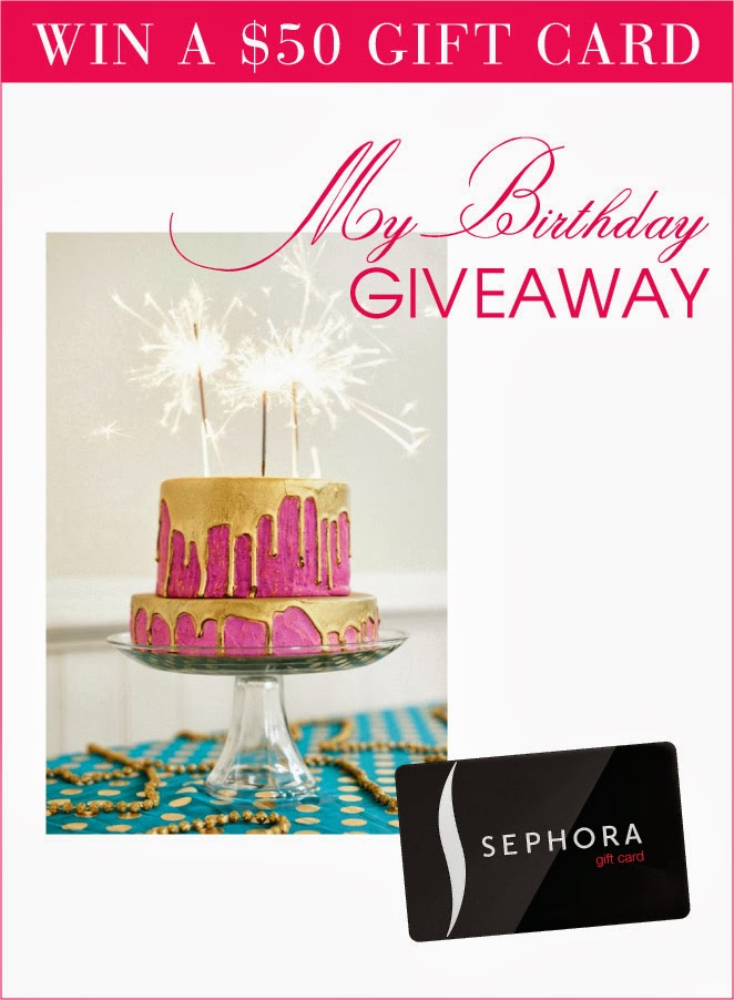 My Birthday Giveaway