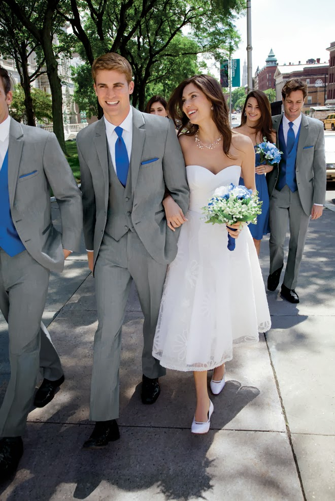 Spring 2014 Grooms Fashion Report by Jos. A. Bank