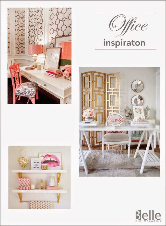 My Office Makeover Inspiration + Blueprint Registry