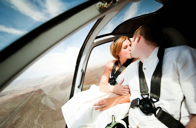 Let your Nuptials Take Flight with Maverick Helicopters