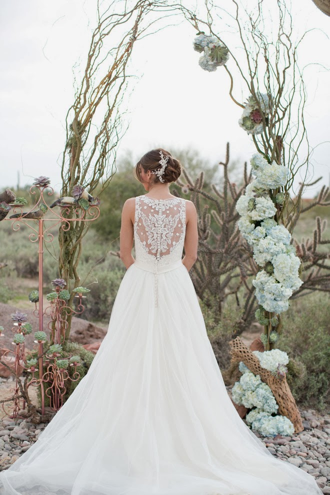 Oasis in the Desert Wedding Inspiration