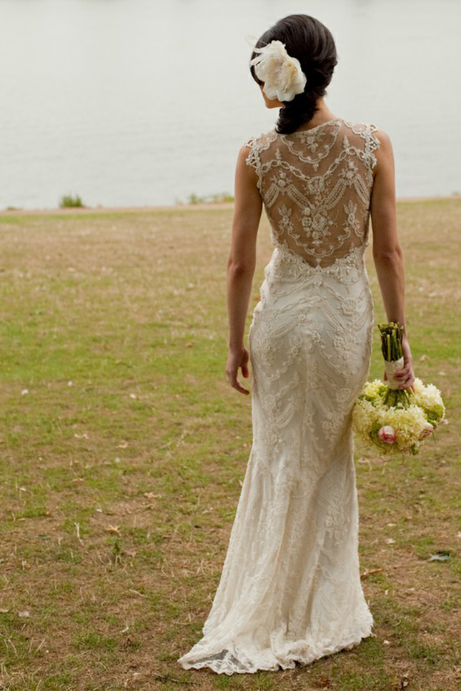 Lace Back Wedding Dresses - Part 1 - Belle The Magazine