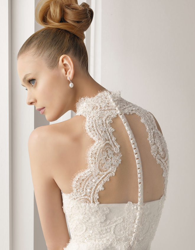 Lace Back Wedding Dresses – Part 4