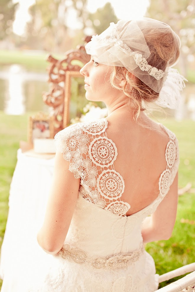 Somewhere in Time Wedding Inspiration + Bridal Fashion