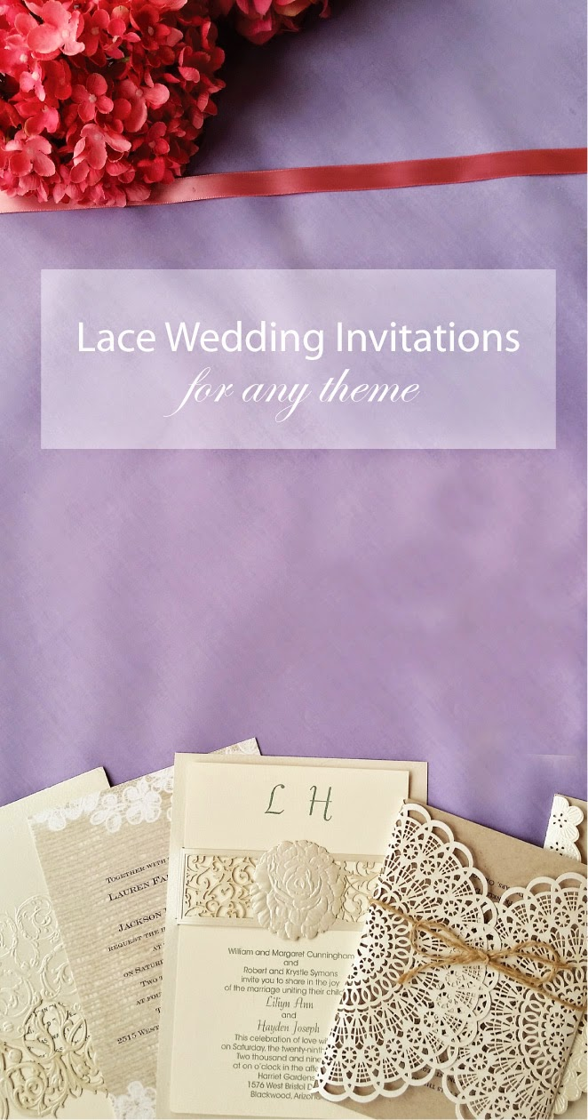 Lace Wedding Invitations… A Fit for Every Theme