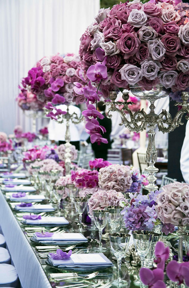 Long Wedding Table Ideas – Part 2