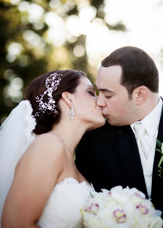Glitz and Glamour Shimmery Wedding