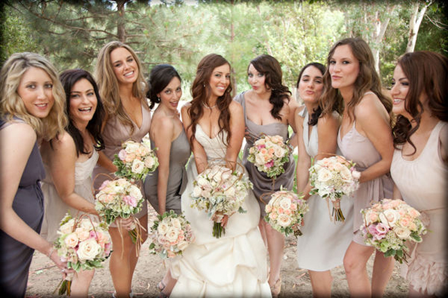 The Secrets of Successful Mismatched Bridesmaids -Part 2