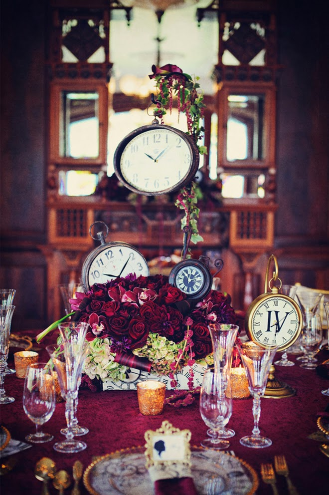 New Year's Eve Wedding Inspiration : Somewhere In Time